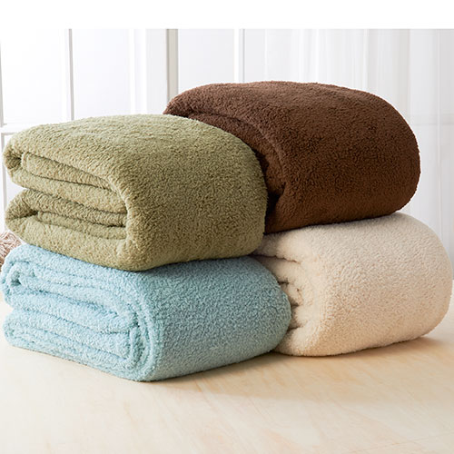 Seasons Collection Sherpa Blanket